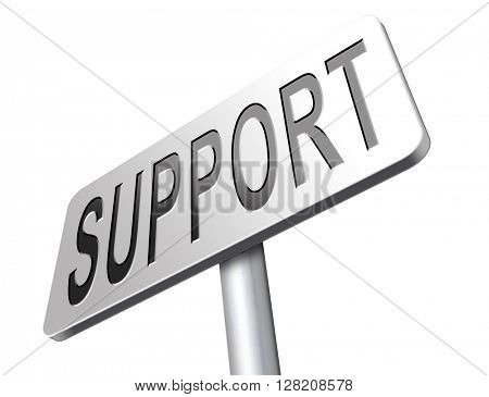 support desk icon or help desk technical assitance and customer service
