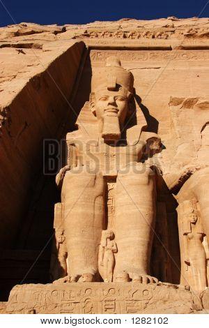 Abu Simbel Statut, Ägypten, Afrika