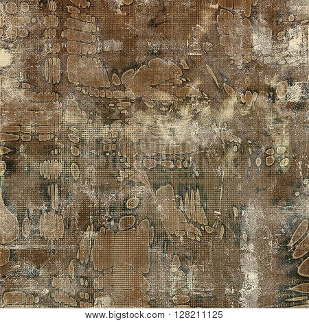 Grunge background for a creative vintage style poster. With different color patterns: yellow (beige); brown; gray; black