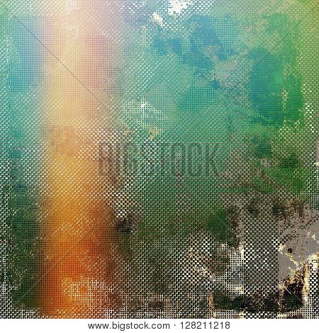 Grunge background for a creative vintage style poster. With different color patterns: yellow (beige); brown; green; blue; red (orange); pink