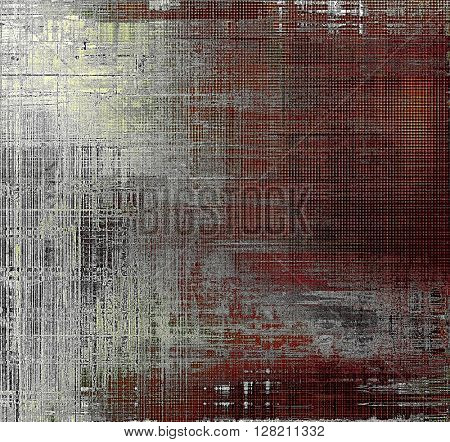 Vintage background texture, antique style composition for your design. With different color patterns: yellow (beige); brown; gray; red (orange); black