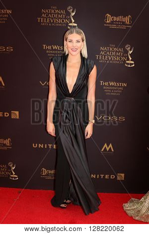 LOS ANGELES - MAY 1:  Charissa Thompson at the 43rd Daytime Emmy Awards at the Westin Bonaventure Hotel  on May 1, 2016 in Los Angeles, CA