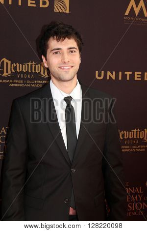 LOS ANGELES - MAY 1:  Freddie Smith at the 43rd Daytime Emmy Awards at the Westin Bonaventure Hotel  on May 1, 2016 in Los Angeles, CA