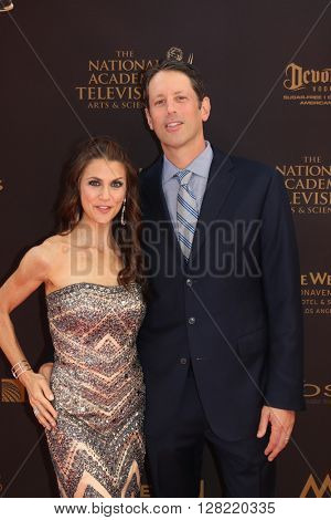 LOS ANGELES - MAY 1:  Samantha Harris at the 43rd Daytime Emmy Awards at the Westin Bonaventure Hotel  on May 1, 2016 in Los Angeles, CA