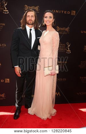 LOS ANGELES - MAY 1:  Ashleigh Brewer at the 43rd Daytime Emmy Awards at the Westin Bonaventure Hotel  on May 1, 2016 in Los Angeles, CA