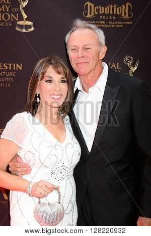 LOS ANGELES - MAY 1:  Kate Linder at the 43rd Daytime Emmy Awards at the Westin Bonaventure Hotel  on May 1, 2016 in Los Angeles, CA