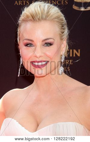 LOS ANGELES - MAY 1:  Jessica Collins at the 43rd Daytime Emmy Awards at the Westin Bonaventure Hotel  on May 1, 2016 in Los Angeles, CA