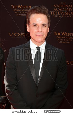 LOS ANGELES - MAY 1:  Christian LeBlanc at the 43rd Daytime Emmy Awards at the Westin Bonaventure Hotel  on May 1, 2016 in Los Angeles, CA