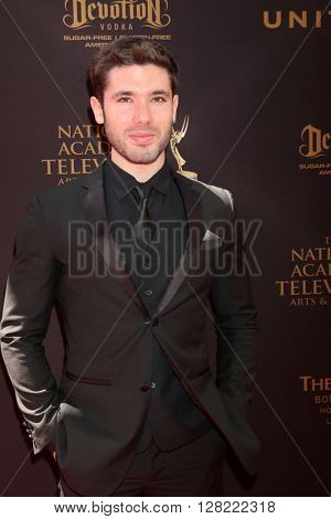 LOS ANGELES - MAY 1:  Kristos Andrews at the 43rd Daytime Emmy Awards at the Westin Bonaventure Hotel  on May 1, 2016 in Los Angeles, CA