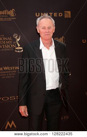 LOS ANGELES - MAY 1:  Tristan Rogers at the 43rd Daytime Emmy Awards at the Westin Bonaventure Hotel  on May 1, 2016 in Los Angeles, CA