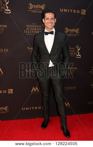 LOS ANGELES - MAY 1:  Miles Gaston Villanueva at the 43rd Daytime Emmy Awards at the Westin Bonaventure Hotel  on May 1, 2016 in Los Angeles, CA