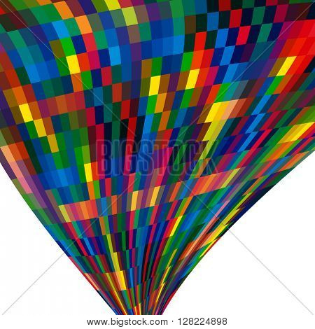 Multicolor abstract  background with bright elements for design.