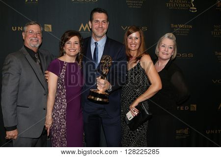 LOS ANGELES - MAY 1:  General Hospital Producers, Frank Valentini at the 43rd Daytime Emmy Awards at the Westin Bonaventure Hotel  on May 1, 2016 in Los Angeles, CA