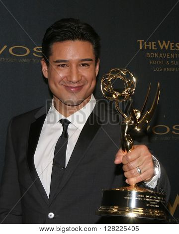 LOS ANGELES - MAY 1:  Mario Lopez at the 43rd Daytime Emmy Awards at the Westin Bonaventure Hotel  on May 1, 2016 in Los Angeles, CA