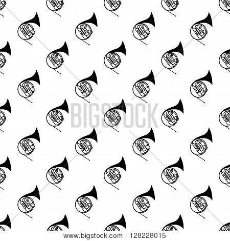 French horn pattern seamless best for any design