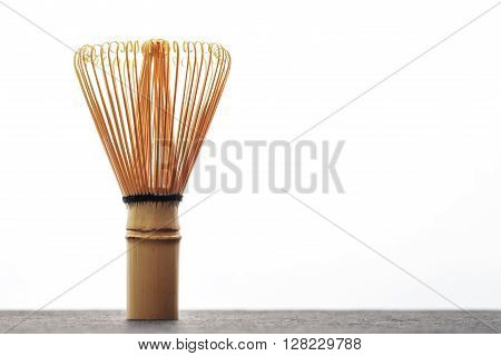 A chasen - special bamboo matcha tea whisk