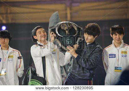 South Korea winner team LAN final WePlay League Season 3 Dota 29 April - 1 May Kiev Ukraine