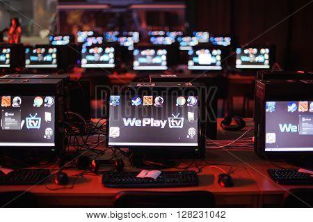computers LAN final WePlay League Season 3 Dota 29 April - 1 May Kiev Ukraine