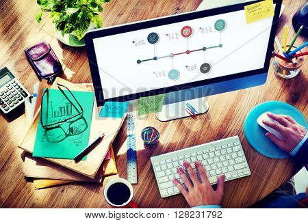 Analysis Data Diagram Inforgrapic Information Concept