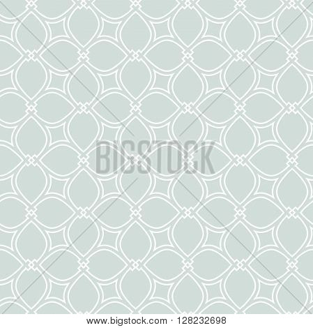 Seamless vector pattern . Modern geometric pattern. Fine pattern with repeating elements. Light blue pattern. Blue fine pattern