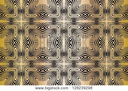 texture pattern illusion of the lines in the form of a symmetrical convex rhombus in a square on a background of gradient