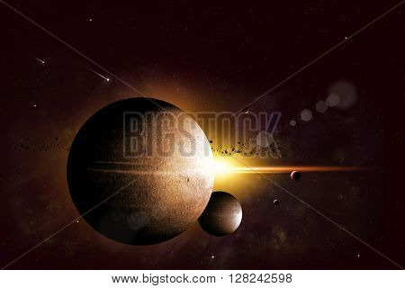 Fantasy Space Background