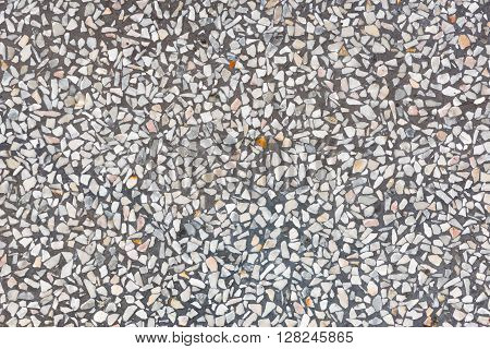 Background And Texture Of Decorarive Gray Terrazzo Floor