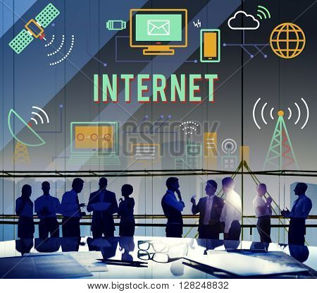Internet Connection Online Technology Network Concept