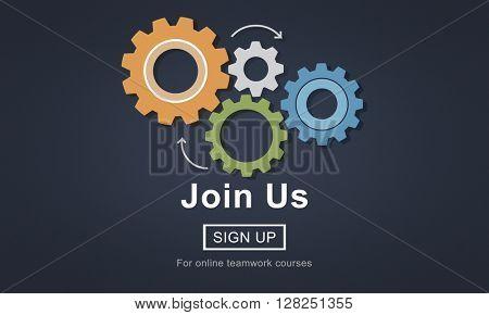 Join Us Recruitment Employment Hiring Concept