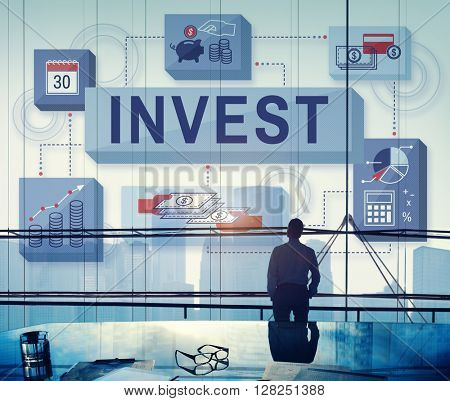 Invest Investment Financial Budget Costs Concept