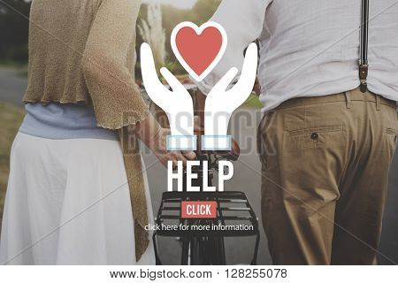 Help Charity Organization Social Help Concept