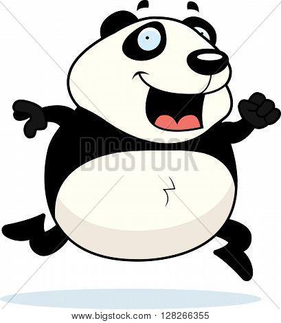 Panda Running