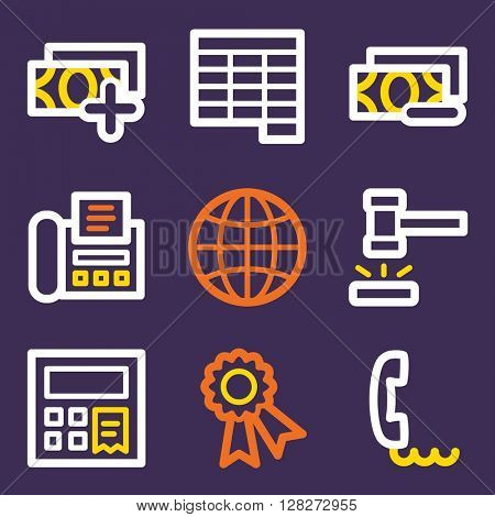 Finance icon, business vector web sign. Banking icon flat. Design mobile icon, vector pictogram. Money infographics symbols.