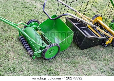 Mechanical Lawn Mower