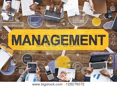 Management Manager Managing Organization Concept
