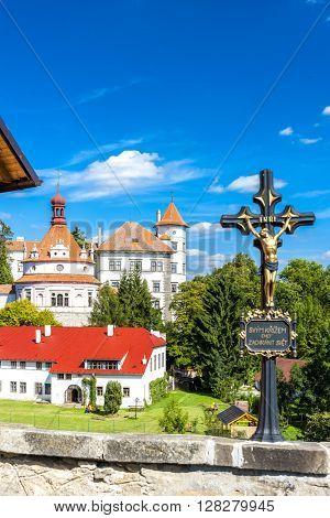 castle and palace of Jindrichuv Hradec, Czech Republic