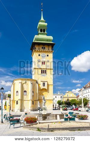 town hall in Retz, Lower Austria, Austria