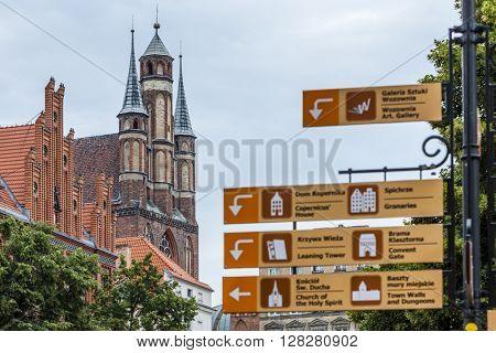 St Mary church, Torun, Kuyavia-Pomerania, Poland