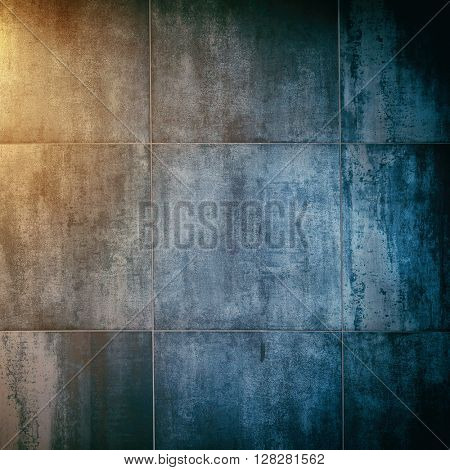 colored background wall (concrete).