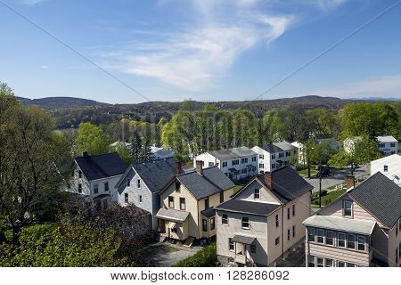 Residential homes in the town of Poughkeepsie New York