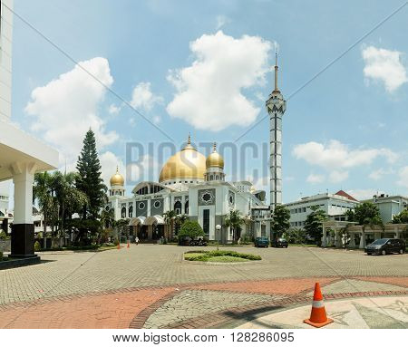 Masjid Baitul Hamdi - Surabaya. Java Indonesia.