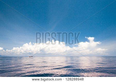 Seascape Panorama Idyllic View