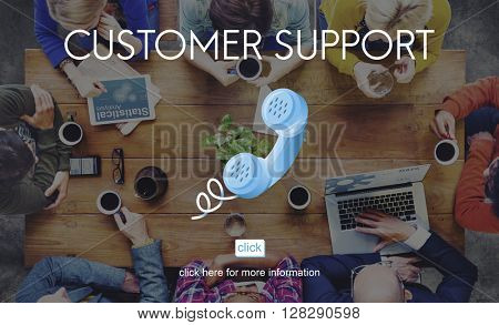 Customer Support Service Care Consumer Client Concept