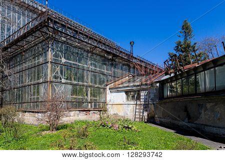 Greenhouse In Sankt-peterburg Botanic Garden