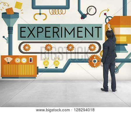 Experiment Explore Try Attempt Concept