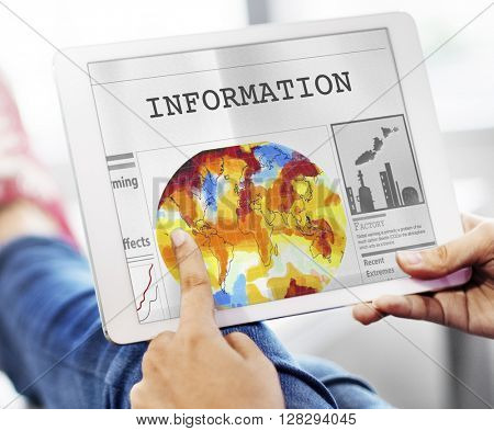 Information Communication Data Content Sharing Concept