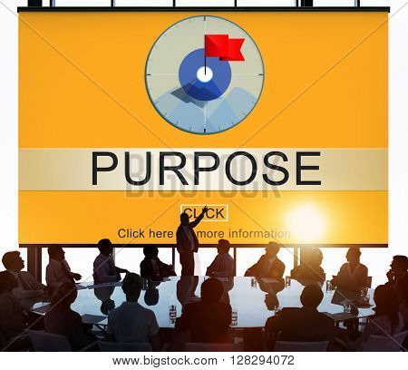 Purpose Aim Mean Objective Potential Reason Concept