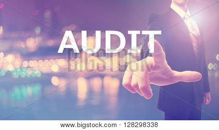 Audit Concept With Businessman