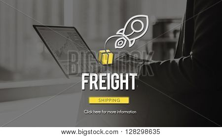 Freight Logistic Cargo Freight Manufacturing Concept