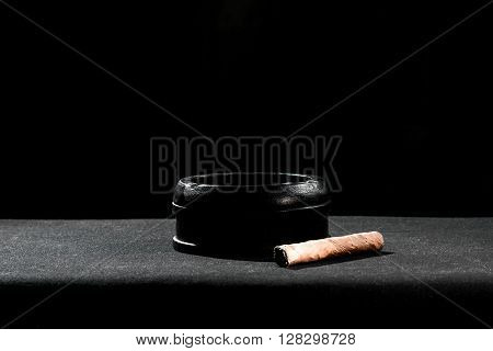 Still-life With The Cigar